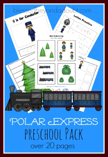polar-express-preschool-pack