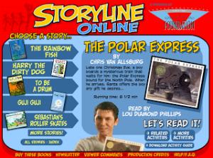 storyline polar express