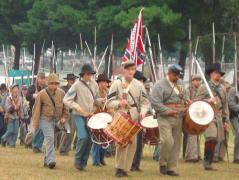 muskets and memories boscobel 2007-drummers