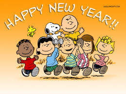 happy new year-peanuts