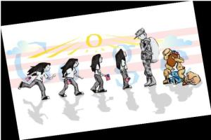 google doodle essay