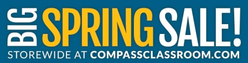 compass spring sale header