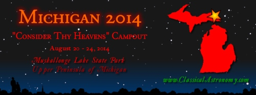 consider thy heavens michigan 2014 campout