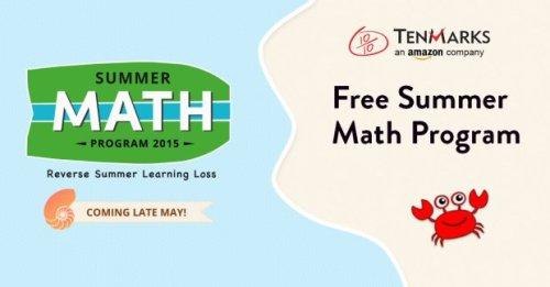 tenmarks online math skills free summer 2015